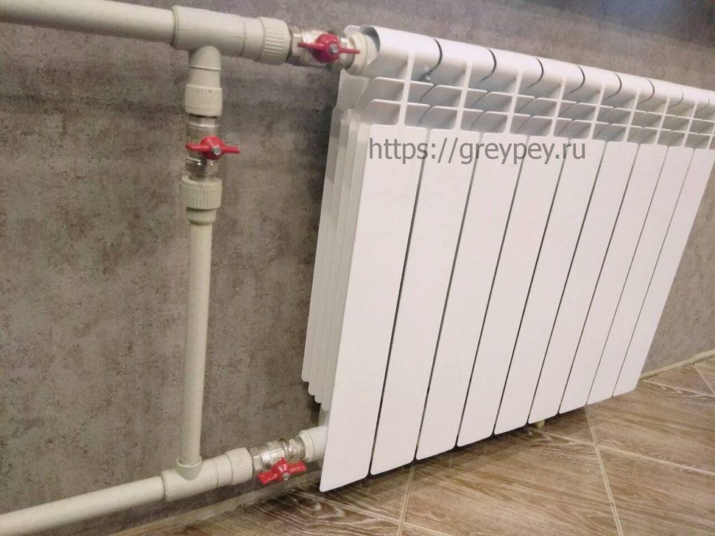 Расчет теплоотдачи радиатора отопления