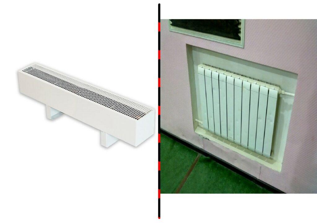 Чем отличается радиатор от конвектора