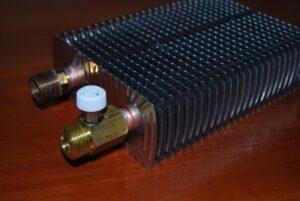 Теплообменник водяного конвектора