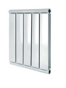 Anodirovannyj alyuminievyj radiator otopleniya