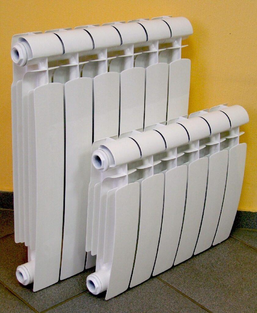 Виды алюминиевых радиаторов