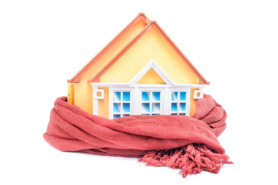 Частный дом без системы отопления