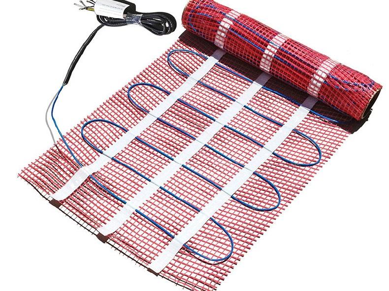 Электрический нагревательный мат теплого пола