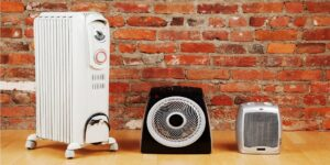 Отопление отдельными обогревателями