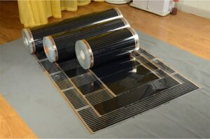 Пленочные электрические полы инфракрасного излучения