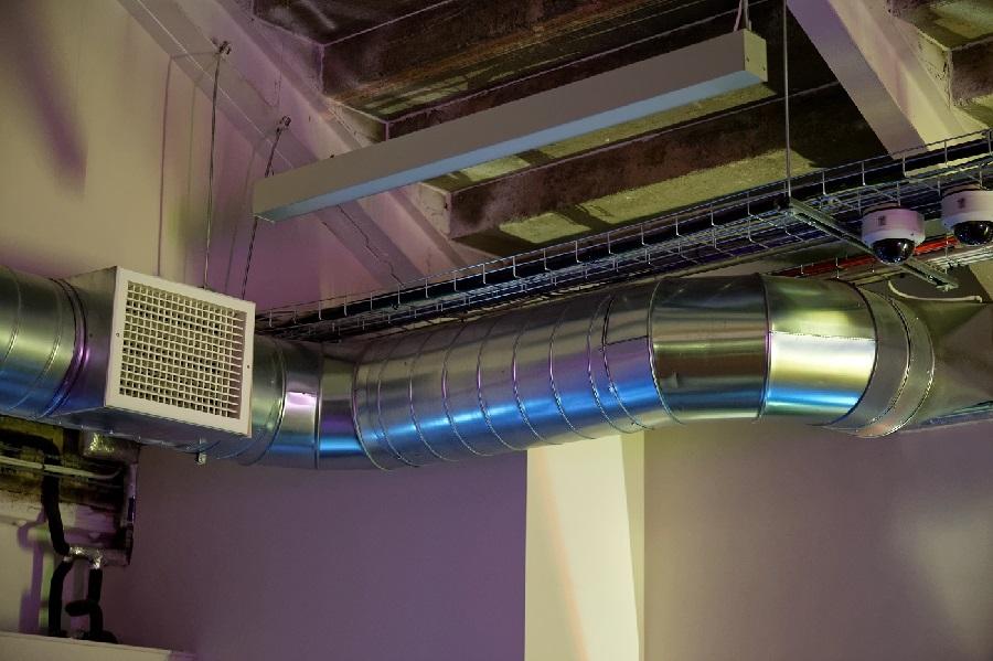 Воздушные комплексы отопления