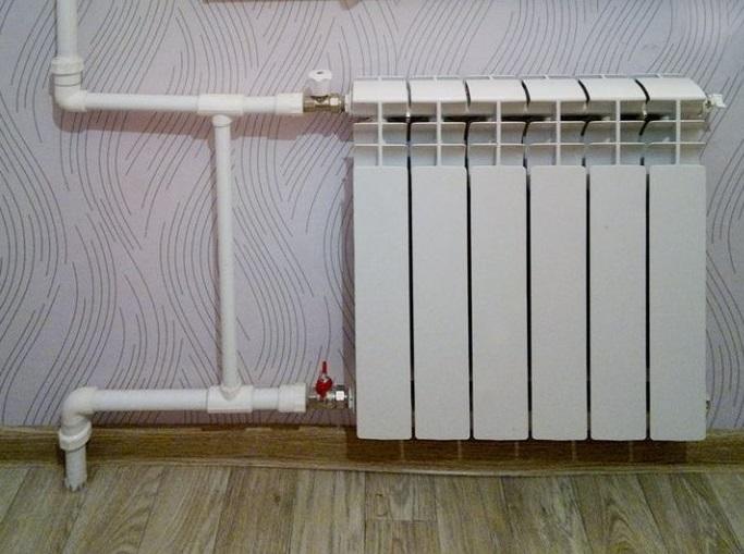 Обвязка радиатора в однотрубной системе отопления