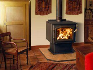 Отопление частных домов печами