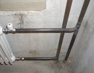 Стальные трубопроводы для водяного отопления