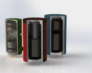 Теплоаккумуляторы для систем водяного отопления