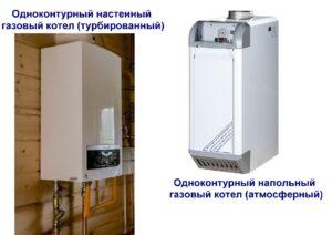 Выбор одноконтурного газового котла