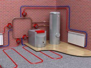 Водяное автономное отопление