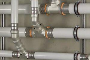 Прокладка трубопроводов отопления