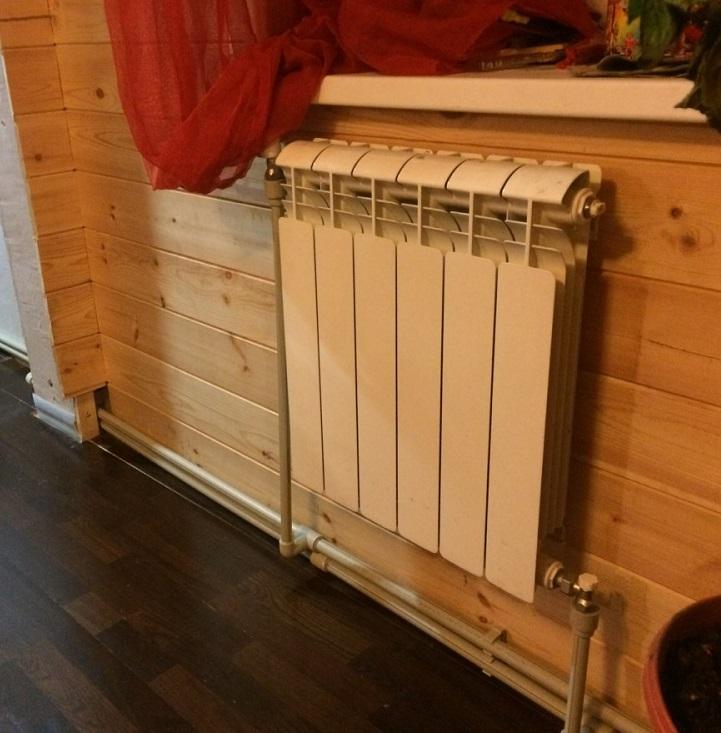 Как правильно установить радиатор (батарею) отопления