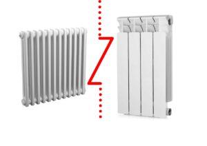 """<span class=""""title"""">Какой радиатор отопления лучше – алюминиевый или стальной?</span>"""